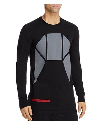 Drkshdw Rick Owens Long Sleeve Graphic Tee