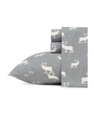 Eddie Bauer Elk Grove Flannel Sheet Set, Queen