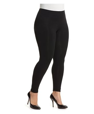 Eileen Fisher Plus System Jersey Ankle Leggings
