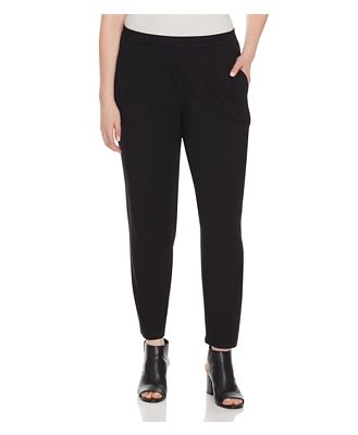 Eileen Fisher Plus System Slim Slouchy Ankle Pants