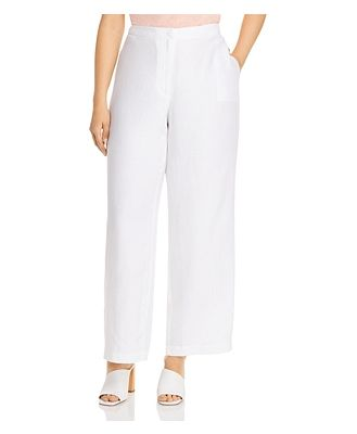Eileen Fisher Plus Wide Leg Pants