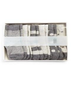 Elegant Baby Classic Gray Socks, 6 Pack - Baby