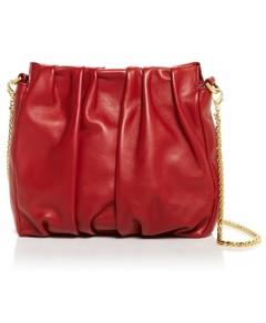 Elleme Vague Pleated Leather Bag