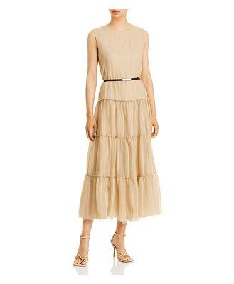 Fabiana Filippi Tiered Midi Dress