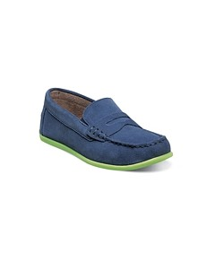 Florsheim Boys' Jasper Driver Jr. Suede Slip-Ons - Toddler, Little Kid, Big Kid