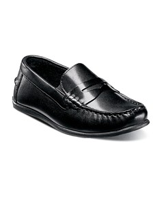 Florsheim Kids Boys' Jasper Leather Driver Slip On Loafers - Toddler, Little Kid, Big Kid