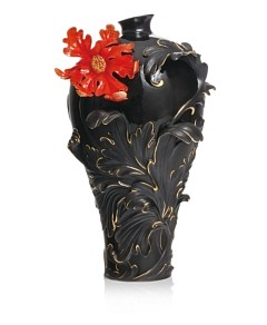 Franz Collection Baroque Red Lily Flower Vase,