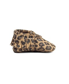 Freshly Picked Girls' Leopard Moccasins - Baby