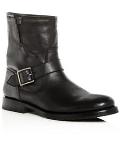 Frye Women's Natalie Leather Moto Boots