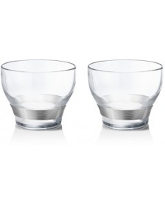 Georg Jensen Henning Koppel Double Old Fashioned Glasses, Set of 2