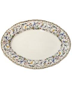Gien France Toscana Oval Platter, 13.5