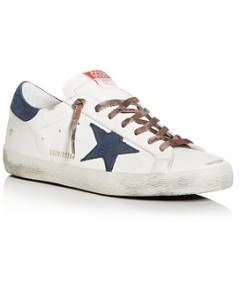 Golden Goose Deluxe Brand Men's Superstar Low-Top Sneakers