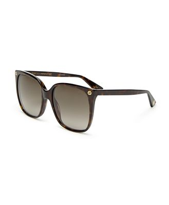 Gucci Women's Square Sunglasses, 57mm