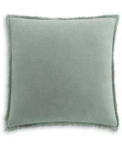 Habit Collection by Highline Bedding Co. Washed Chenille Euro Sham - 100% Exclusive