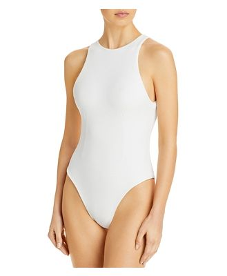 Haight High Neck One Piece Swimsuit