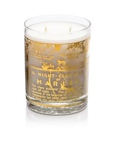 Harlem Candle Company 22K Gold Nightclub Map of Harlem Savoy Luxury Candle