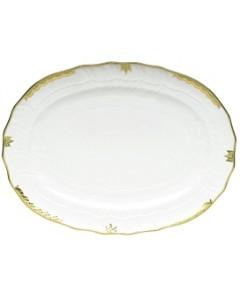 Herend Princess Victoria Green Platter