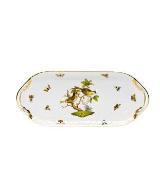 Herend Rothschild Bird Sandwich Tray