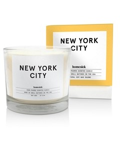 Homesick Candles Nyc 3-Wick Candle