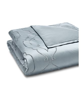 Hudson Park Collection Embroidered Tile Duvet Cover, King - 100% Exclusive