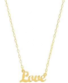 Iconery 14K Yellow Gold Love Nameplate Necklace, 16 - 100% Exclusive