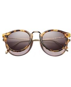Illesteva Women's Portofino Round Sunglasses, 54mm