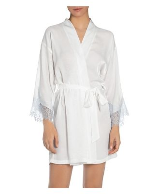 In Bloom by Jonquil Lace Trim Robe