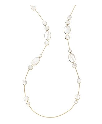Ippolita 18K Yellow Gold Rock Candy Hero Extra-Long Statement Necklace, 50