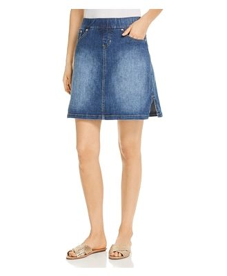 Style Portfolio On The Go Denim Skort