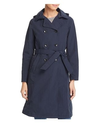 Jane Post Crinkled Trench Coat