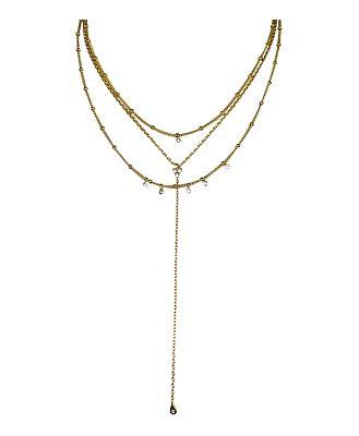 Jules Smith Selina Lariat Necklace, 16