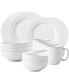 Juliska Puro Whitewash 20 Pc Essential Dinnerware Set
