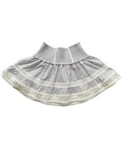 KatieJnyc Girls' Lara Smocked Waist Skirt - Big Kid