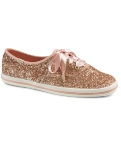 Keds x kate spade new york Women's Glitter Lace Up Sneakers