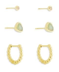 Kendra Scott Ivy Huggie Hoop an Stud Earrings, Set of 3