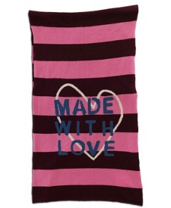 Kerri Rosenthal Made With Love Striped Cashmere Scarf