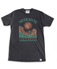 Kid Dangerous Cotton Blend Yosemite Graphic Tee