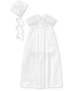Kissy Kissy Boys' 3-Piece Christening Gown, Suit & Bonnet Set - Baby