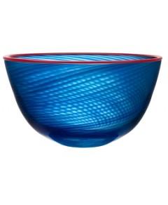 Kosta Boda Red Rim Bowl
