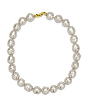 Majorica Baroque Simulated Pearl Collar Necklace, 17