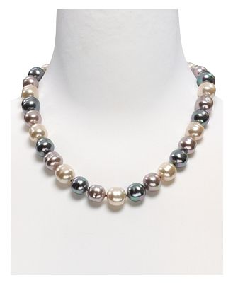 Majorica Baroque Simulated Pearl Necklace, 20