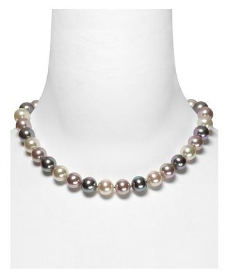Majorica Multi Simulated Pearl Necklace, 17