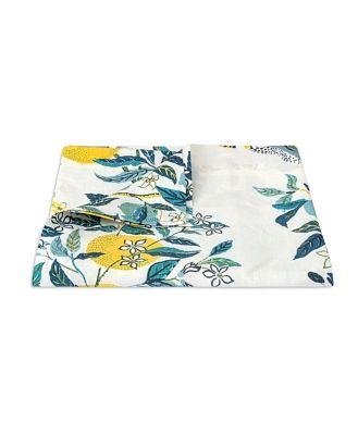 Matouk Citrus Garden Tablecloth, 70 x 90
