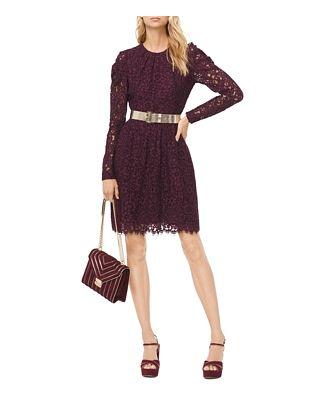 Michael Michael Kors Corded Floral Lace Dress