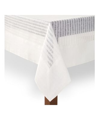 Mode Living Greenwich Tablecloth, 80 x 128