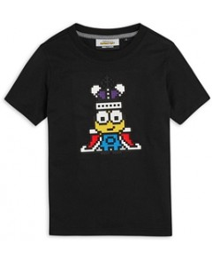 Mostly Heard Rarely Seen Boys' Mini King Minions Tee - Little Kid, Big Kid