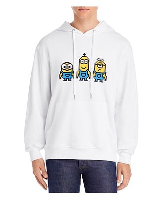 Mostly Heard Rarely Seen Tiny Together Applique Hoodie