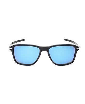 Oakley Men's Polarized Square Sunglasses, 54mm