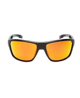 Oakley Men's Polarized Square Sunglasses, 64mm