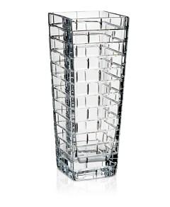 Rogaska Quoin 12.5 Square Vase